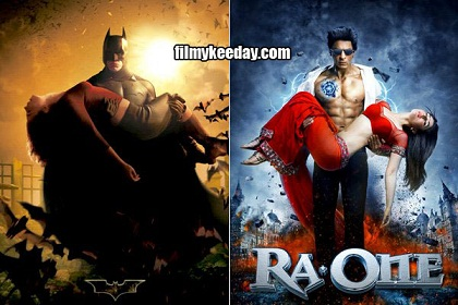 Ra one poster copied from batman