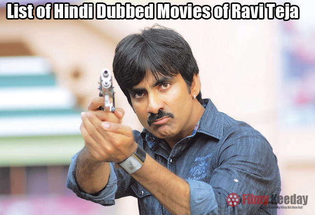 Ravi Teja hindi Dubbed movies list