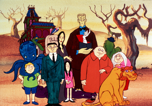 The Addams Family hindi cartoon shows