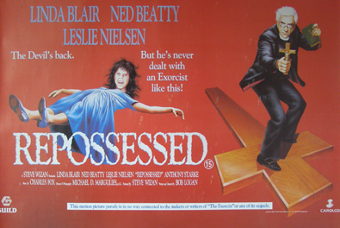 repossessed Poster spoof of exorcist