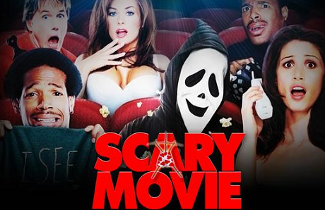 scray movie spoof of horror movies