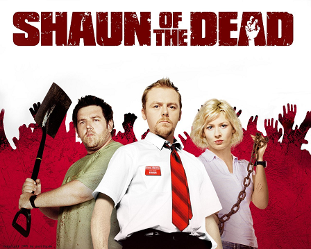 shaun of the dead parody of dawn of the dead