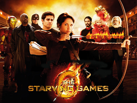 the starving games spoof of The hunger games
