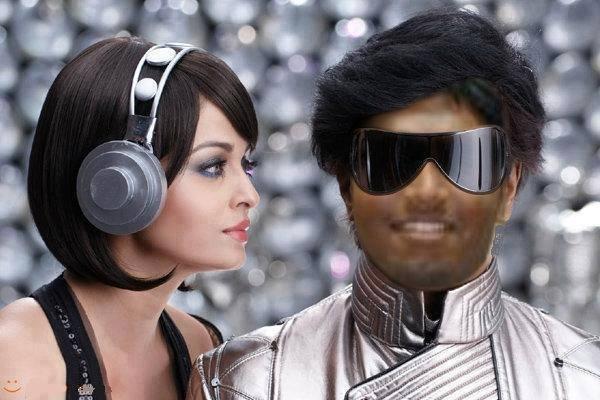 Rajnikanth photoshop Fail