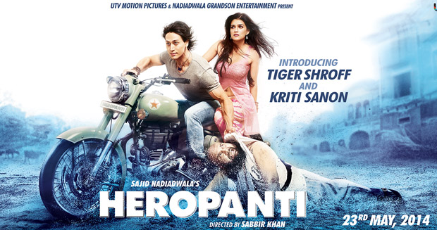 Heropanti Hindi Movie poster best movie of 2014