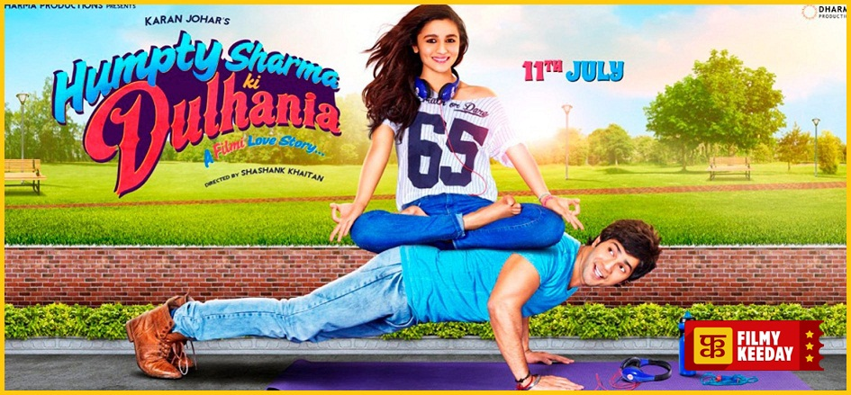 Humpty Sharma Ki Dulhania Beautiful Movie Poster Wallpaper