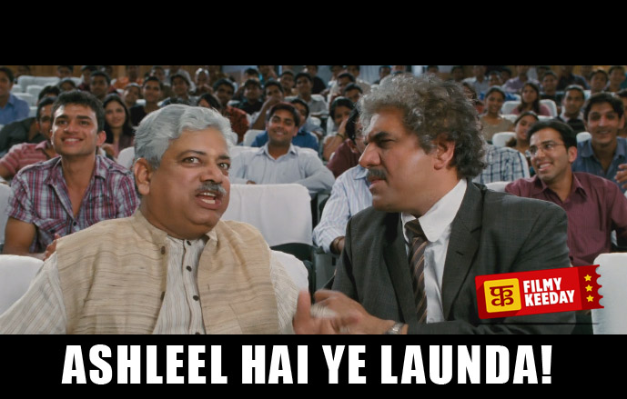 ashleel hai ye launda 3 idiots dialogues memes