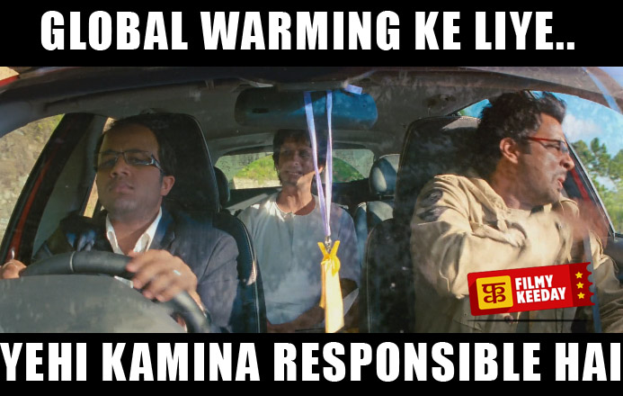 global warming ke liye yehi kamina responsible hai