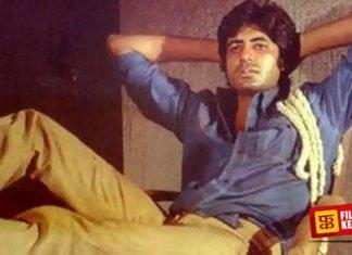 Amitabh Bachchan in Deewar Coolie