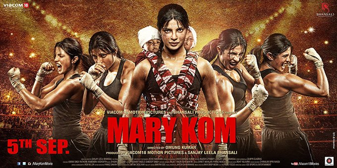 Mary Kom Poster release