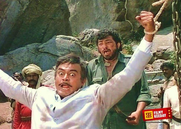 Sholay Amjad Khan Sanjeev Kumar Still Ye hath Mujhe