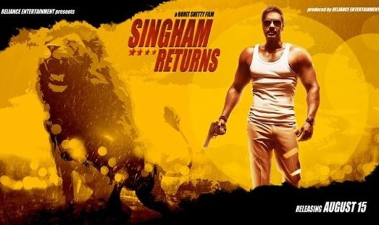 Singham returns Poster Dialogues
