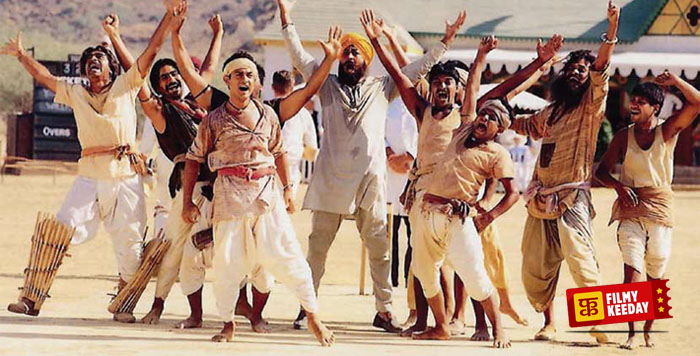 Team Lagaan and Aamir Khan