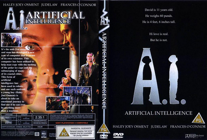 Artificial Intelligence Steven Spielberg Film hindi