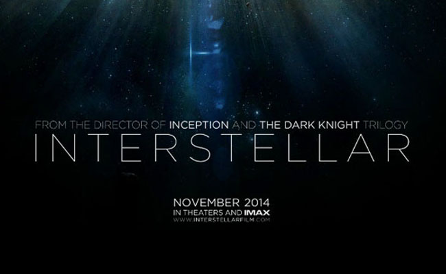 Interstellar Movie Poster Christopher nolan