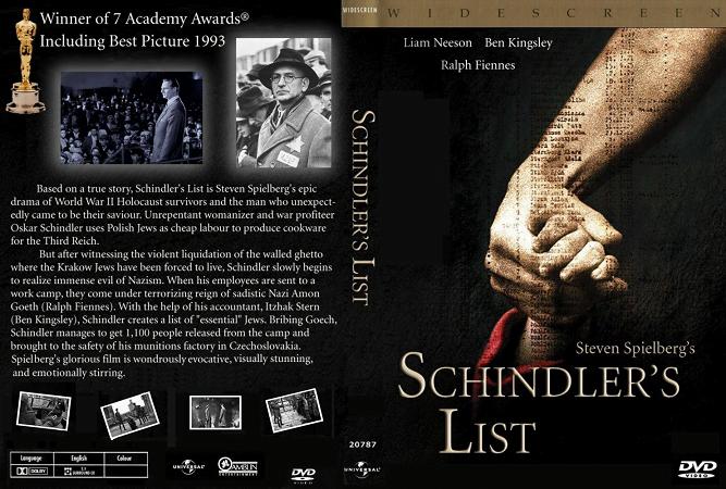Schindlers List Steven Spielberg film