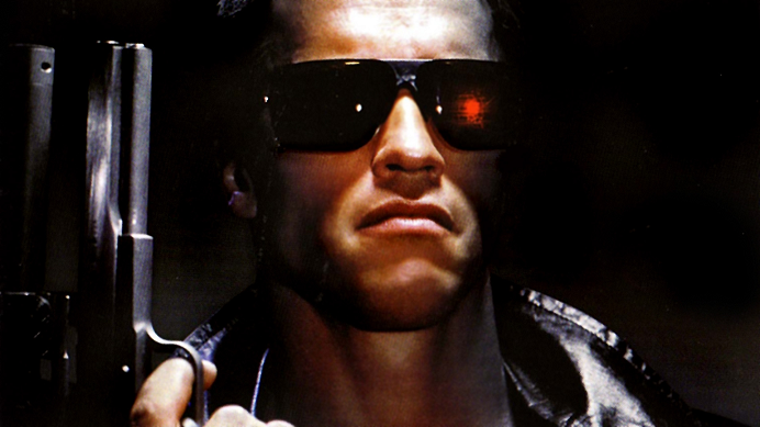 The Terminator Arnold movie directed by James cameron