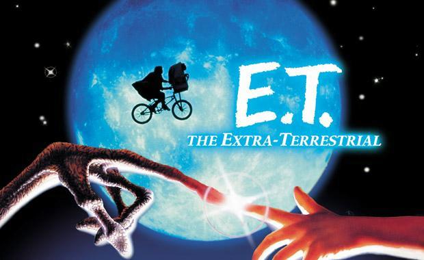 The extra Terrestrial ET StevenSpeilberg film