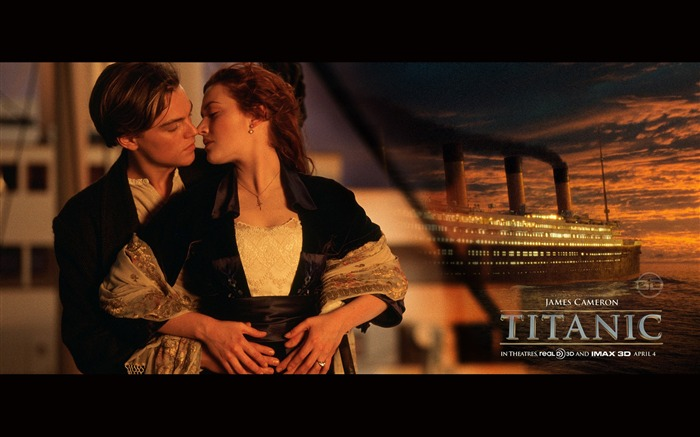 Titanic Poster 3d James Cameron movies