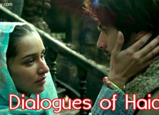 dialogues of haider