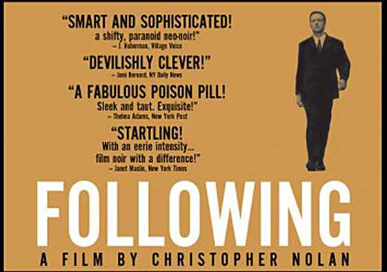 following film by Christopher nolan poster