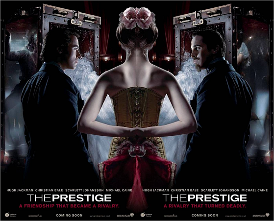 the Prestige Nolan Movie poster