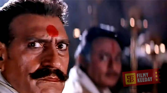 Amrish Puri in Karan Arjun