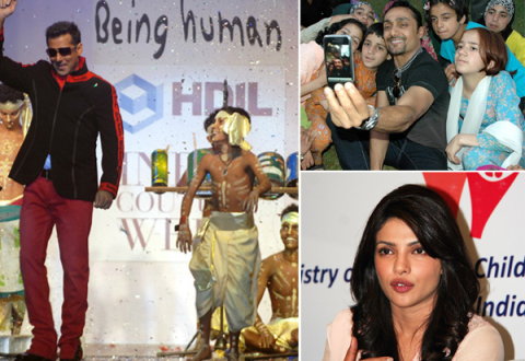 Bollywood Celebrities and their Charity Causes