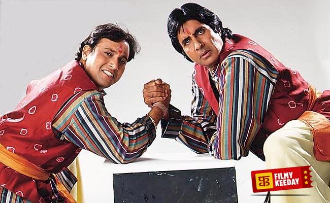 Bade Miyan Chote Miyan Double Role Govinda Amitabh