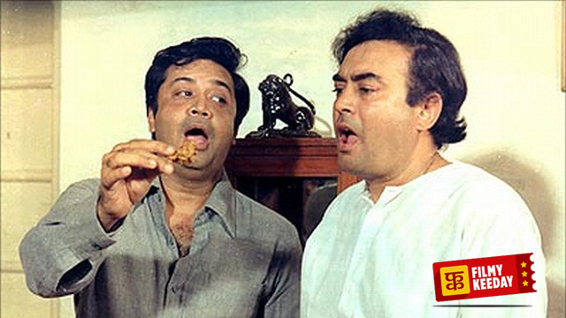 Deven and Sanjeev Kumar Angoor Double Role