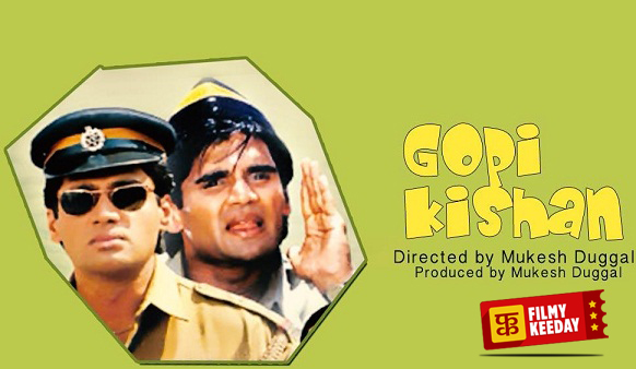 Gopi Kishan Double Role Suniel Shetty