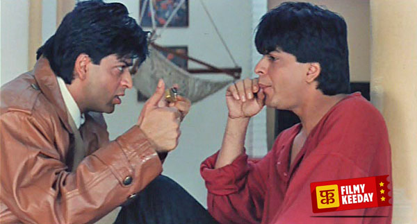 Shahrukh Khan Double Role in Duplicate
