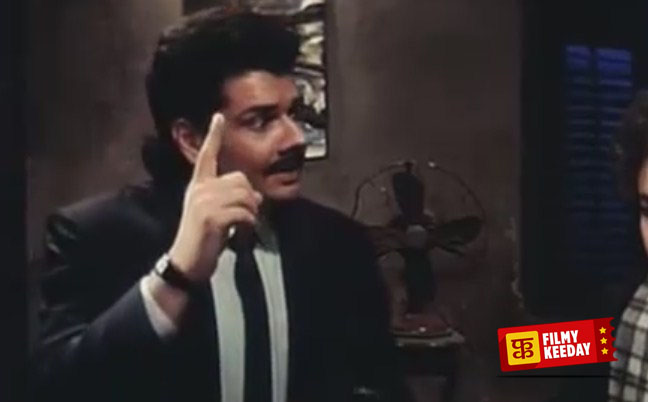 Shehzad Khan as Bhalla in Andaz Apna Apna