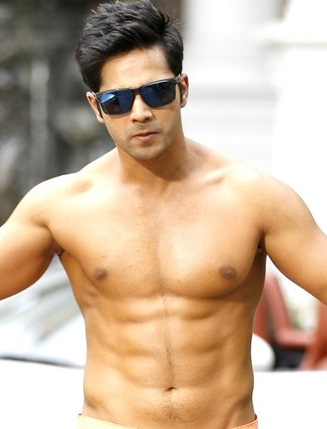 Varun Dhavan Looks and Body Abs