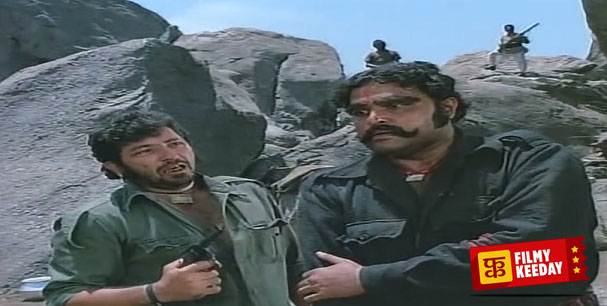 Viju Khote as Kalia in Sholay
