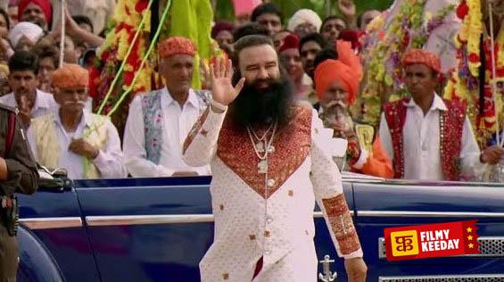 Gurmeet Baba Ram Rahim godman in movie