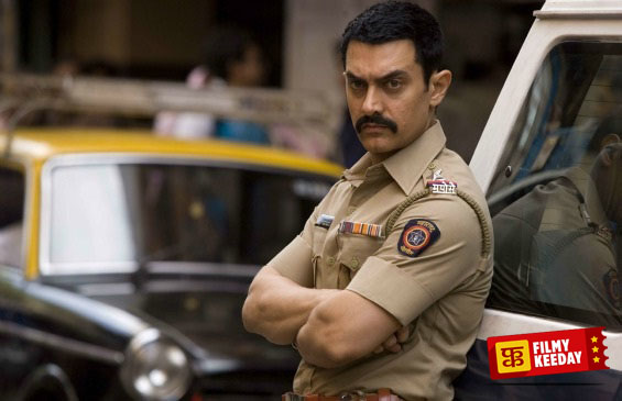 Aamir Khan as Cop in Taalash