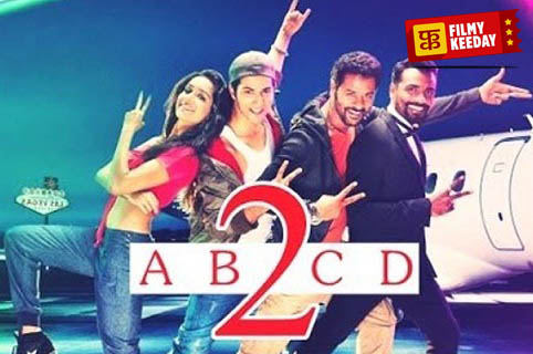 ABCD 2 Poster Allu Arjun with poster
