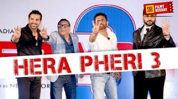 Hera Pheri 3 Poster Without Akshay Kumar