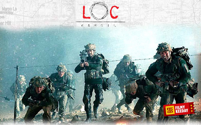 LOC Kargil Movie on India Pak War Army