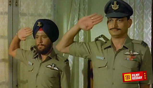 Vijeta 1982 Hindi movie on life of Army and Pilots