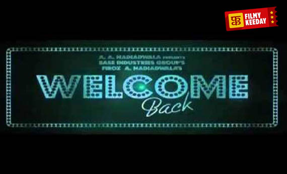 Welcome back Poster Hindi movie