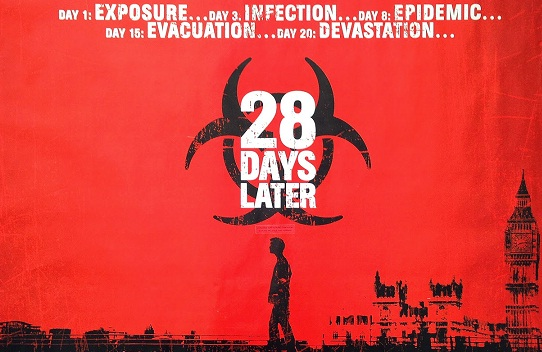 28 Days later Zombie movie