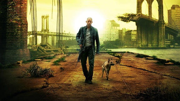 I am Legend Zombie movie Hollywood