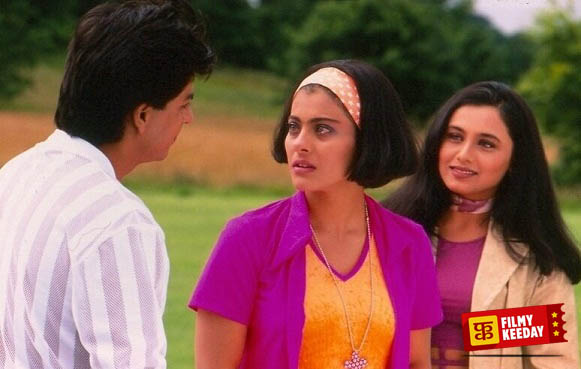 Love triangle love story kuch kuch hota hai