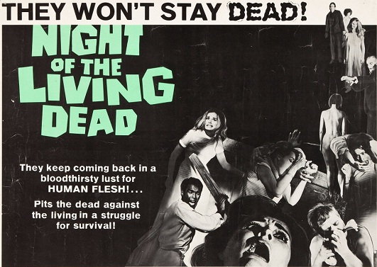 Night of the living Dead Hollywood Zombie film
