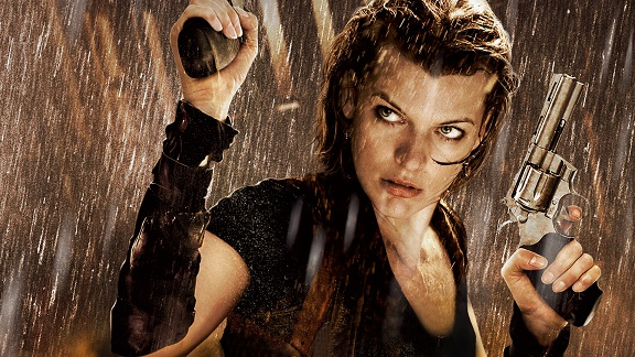 Resident Evil Movies on Zombies