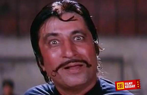 Shakti Kapoor crime master gogo in Andaz Apna Apna
