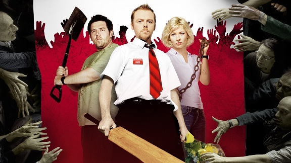 Shaun of the Dead movie on zombies