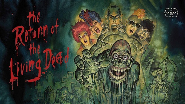 The Return of the Dead movie on Zombies